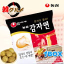 ■ Korea food ■ food import ■ import food ■ Korea food ■ Korean food ■ Korea souvenir ■ Korea ramen ■ potato ramen ■ potato noodles ■ emergency rations ■ disaster prevention goods ■ dried noodles ■ instant noodles ■ deep-discount ■ sale [YDKG-s] containing 40 potato noodles [1BOX] [SBZcou1208]