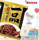 一品ジャージャー麺【1BOX】32個入り■韓国食品■韓国/韓国ラーメン/乾麺/インスタントラーメン/