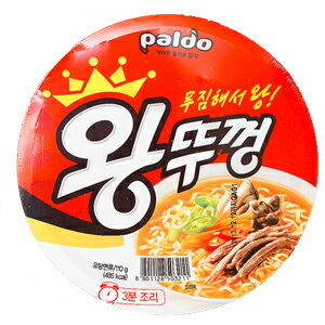 """Paldo"" Kings Cup ramen 110 g ■ Korea noodles ■ Korea food ■ imported food ■ imported ingredients ■ Korea food ■ Korea cuisine ■ Korea souvenir ■ emergency food ■ for safety ■ disaster ■ noodles ■ instant ramen ■ spicy ramen ■ ramen ■ cheap sale ■ ■ Pardo"