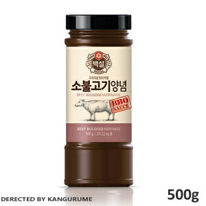 Source / sauce for 500 g of sauce ■ Korea food ■ Korean food / Korea food / seasoning / Korea source / roasted meat for cow プルコギ