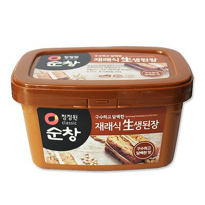 Sunchang miso 1 kg ■ Korea food ■ Korea cuisine / Korea food materials / seasoning / Korea source and Korea miso / conventional miso and miso soup