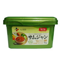"Miso /SmaStation tele dynasty for 1 kg of ""ヘチャンドル"" Sam Jean ""サンチュ miso"" ■ Korea food ■ Korean food / Korea food / seasoning / Korea source / Korea miso / roasted meat"