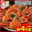 北海道紋別浜茹で ずわいがに姿 6杯(約...