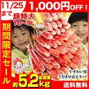 【11/25まで1,000円引】超特大10L〜9L生ずわい半...