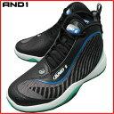 AND1 TAI CHI 3 タイチ 2005MBW ブラック×ホワイト×ロイヤル アンドワン バッシュ ダンス バスケットシューズ