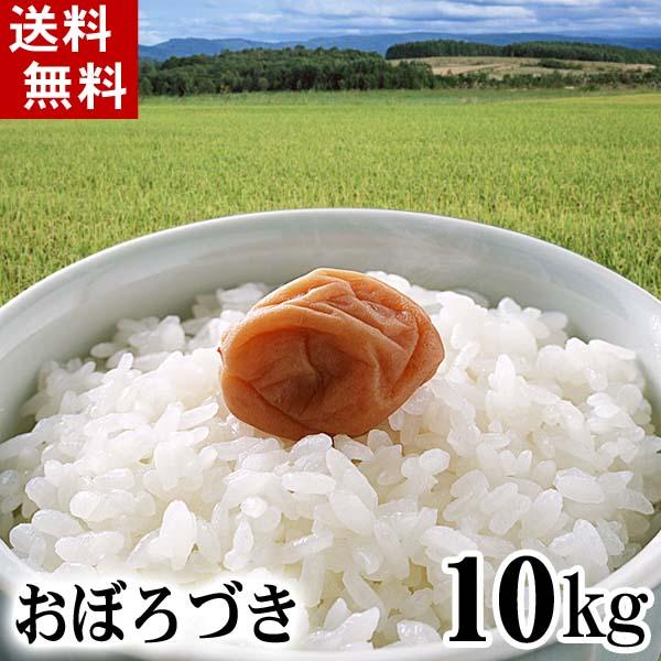 (送料無料)29年度 新米 北海道産米 おぼろづき 10kg 白米、精米 もっちりした食感のお米。柔らかい食感と強い粘りが特徴のおぼろつきは、新潟産コシヒカリに匹敵する評価を受けています。北海道グルメ食品 米・雑穀 米 おぼろ月(ギフト)