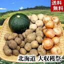 (送料無料) 北海道大収穫祭!じゃがいも・かぼちゃ・玉ねぎ ...