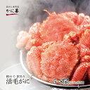 訳あり 活毛ガニ 5〜8尾セット (合計約2.5kg) 北海道産 冷蔵 かに 毛蟹 活かに 活蟹 刺身も 母の日