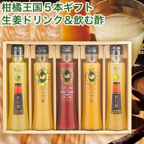 生姜ドリンク&飲む酢セット S-50n