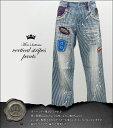 4Nn 0)))/デニムパンツ/419-4016/縦縞パンツ vertical stripes pantsメンズエッグ/メンズナックル系ブランド