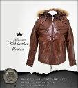 in the attic/キルトレザーブルゾン/104-9007J/キルトレザーブルゾン Kilt leather blousonメンズエッグ/メンズナックル系ブランド