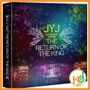 【K-POPDVD+写真集・送料無料・ポスター・クリアファイル・コード3・限定版・予約】 JYJ - [THE RETURN OF THE KING]2014 ...