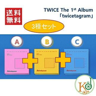 K-POPCD・送料無料・クリアファイル[2次予約]TWICEThe1stAlbumtwicetag