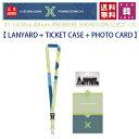 【レンヤード&チケットケース】X1 1st Mini Album PREMIERE SHOW-CON 公式グッズ ネックストラップ LANYARD+TICKET CASE+PHOTO CARD エ..