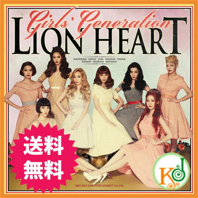 K-POPCD・送料無料・代引き不可・生写真少女時代-正規5集[LionHeart]/GirlsGe