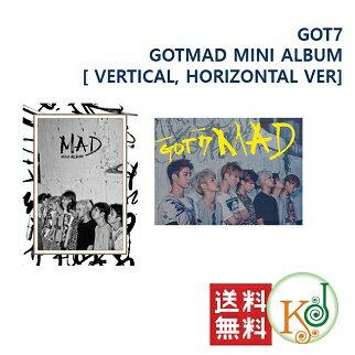 K-POPCD・送料無料・クリアファイル・予約GOT7-MAD(MINIALBUM)[VERTICA
