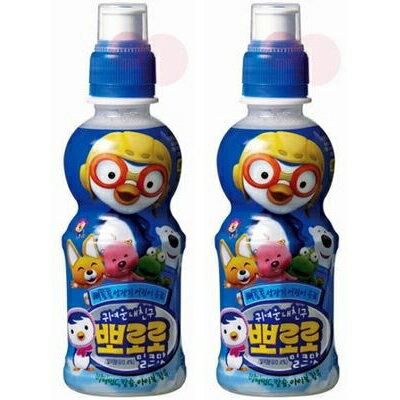 韓国ヤクルト パルド ポロロジュース ミルク味2...の商品画像