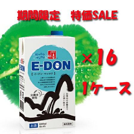 二東(イードン)にっこりマッコリ紙パック1ケース...の商品画像