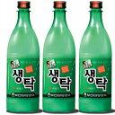 釜山 生濁マッコリ(ペットボトル)750ml 3本セット