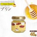【訳あり】はにふれ「プリン」フレーバー蜂蜜(45g) フレーバーハニー アウトレット ※賞味期限:2021.11まで 蜂蜜専門店 かの蜂