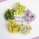 アジサイ 5種類セット プリザーブド加工 ハーバリウム レジン キット 花材 あじさい お試し 買い足し 封入 素材 紫陽花 ポイント 送料無料