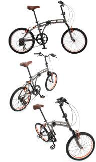 20インチ折りたたみ自転車245ZEROPOINT[シマノ7段変速フルサスアルミフレームドッペルギャンガーDOPPELGANGER]