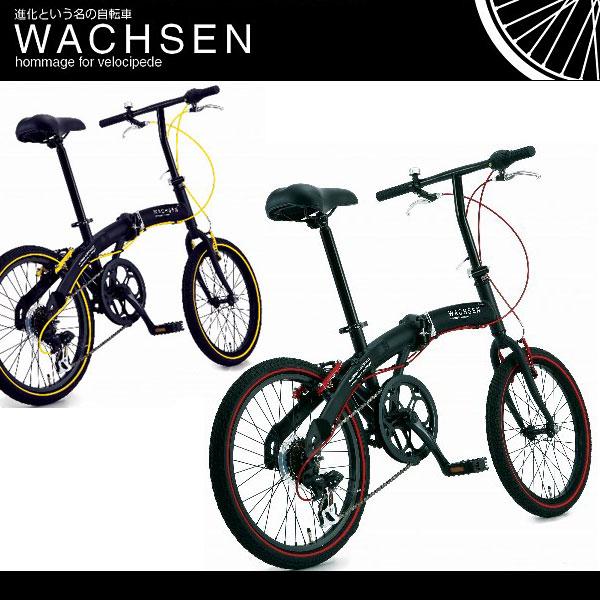20インチ 折りたたみ自転車 BA-100 [ シマノ6段変速 アルミフレーム 鍵 自転車 折り畳み自転車  ヴァクセン WACHSEN]  20インチ 折りたたみ自転車 BA-100 ヴァクセン WACHSEN