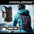 ランニング バックパック ナローサイクルバックパック ジョギング ポーチ バッグ サイクリング ハイドレーション リュックサック 自転車 鞄ドッペルギャンガー DOPPELGANGER dbm273-bk