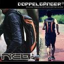 ランニング バックパック ジョギング ポーチ バッグ サイクリング ハイドレーション リュックサック 自転車 鞄 ドッペルギャンガー ナローサイクルバックパックプラス DBM315