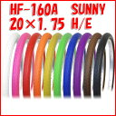 20インチ カラータイヤ HF-160A SUNNY ミニベ...