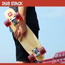【収納バッグ付】スケートボード コンプリート デッキ スケボー クルーザーキッズ ソフトウィール ベアリング ミニクルージング スケートボード dsb-17