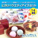 ヒカリバラエティアイスクリームセット(14種類) (短冊のし)