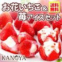 アイス ギフト 【 送料無料 】お花のようないちごアイス&苺...