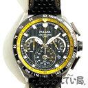未使用品 SEIKO セイコーPU2007パルサー クロノグラフ デイト メンズ 腕時計 SS/レザー VK63-X001 海外モデルused SA