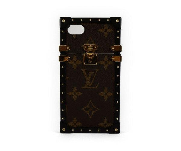 ルイ・ヴィトン モノグラム アイトランク iPhone7ケース アイフォンケース M64479【中古】