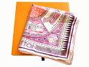 ショッピングイス LOUIS VUITTON ルイヴィトン カレ・ジュドュルイ スカーフ M71389 ピンク系 シルク100% 正規BOX付【程度A】【中古】