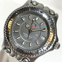 TAG-HEUER タグホイヤー プロフェッショナル 200M セルシリーズ WG1113-K0 SS ボーイズサイズ クオーツ ダイバーズ デイト 腕時計 管理YI