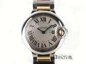 Cartier【カルティエ】 バロンブルーSM W69007Z3  クォーツ 腕時計 【中古】USED-A かんてい局小牧店 c16-4837