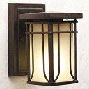 玄関照明 外灯 ポーチライト LED ランプ 門灯 壁付け照明 センサーなし 節電対応 エクステリアライト 外灯 照明 アンティーク風 レトロ 和モダン玄関照明 外灯 エイジングブロンズ05P03Dec16