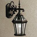 玄関照明 外灯 ポーチライト LED ランプ 門灯 壁付け照明 センサーなし 節電対応 エクステリアライト 外灯 照明 アンティーク風 レト…