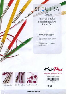 ニットプロ move the expression wheel needle Trendz Starter sets ( 75614 )