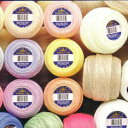 ☆DMCセベリアレース糸 #20 50g Art167基本色 毛糸 編み物 サマーヤーン :