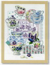 DMC 刺しゅうキット Crokery and Violets BK769 【KY】 BEST SELLERS クロスステッチ