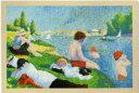 DMC 刺しゅうキット ジョルジュ スーラ アニエールの水浴 BL1065/71 【KY】 THE NATIONAL GALLERY クロスステッチ