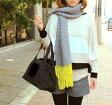 ☆毛糸蔵かんざわオリジナルキット22  簡単!カラーフリンジマフラー 星野真美 デザイン