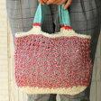 ☆毛糸蔵かんざわオリジナルキット31  トリコロールミニバッグ 星野真美 デザイン