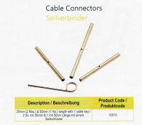 ニットプロ付け替え式輪針用ケーブルコネクタ