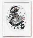 パフスリーブのドレス 赤毛のアンの物語 No.7453 デザイン:オノエ・メグミ オリムパス クロスステッチ 刺しゅう キット