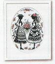 アンとダイアナ 赤毛のアンの物語 No.7455 デザイン:オノエ・メグミ オリムパス クロスステッチ 刺しゅう キット