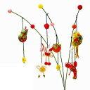 京ちりめん つり草飾り飾り 健康長寿 LH-442【KY】パナミ